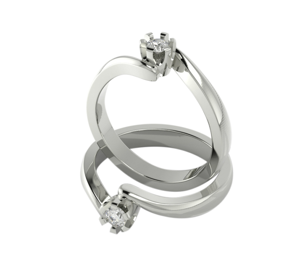 Venčano prstenje Spasić 580